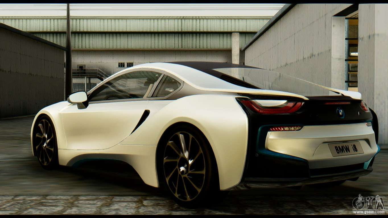BMW I For GTA San Andreas - 2013 bmw i8