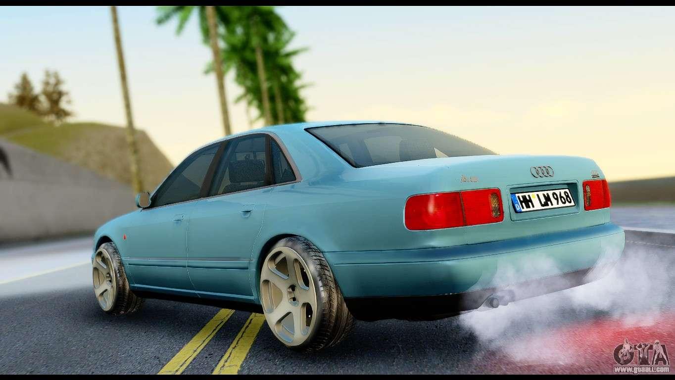 Audi A8 2002 For Gta San Andreas