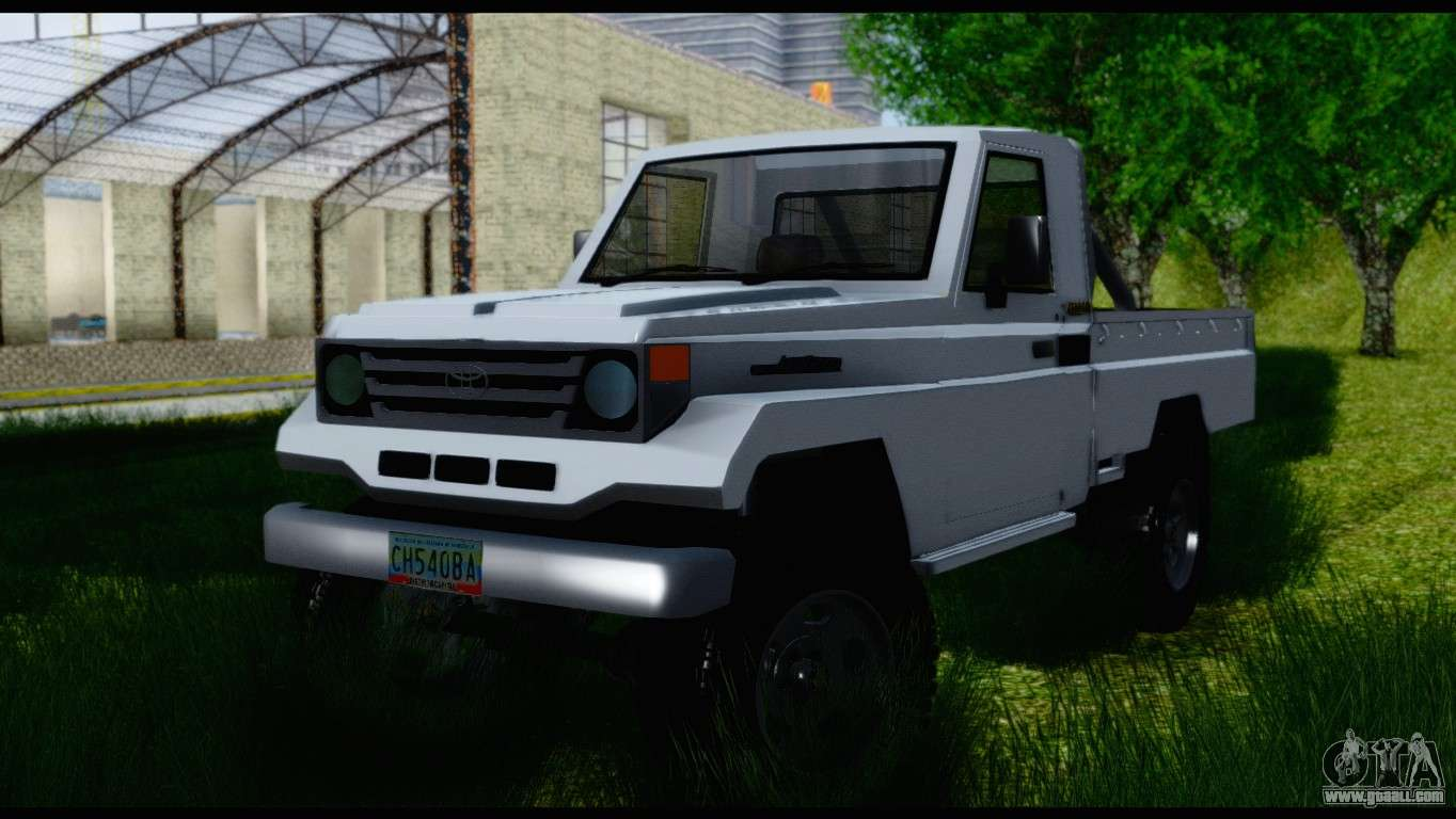 toyota land cruiser macho pick up 2007 for gta san. Black Bedroom Furniture Sets. Home Design Ideas