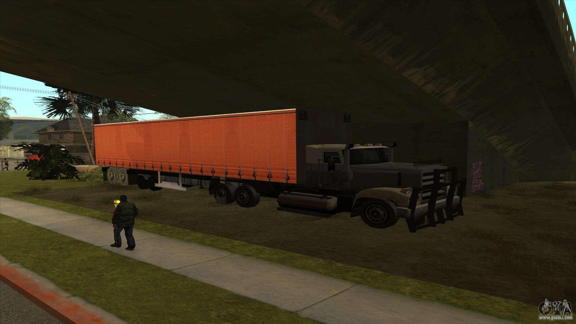 Transport Tank Trailer For Gta San Andreas