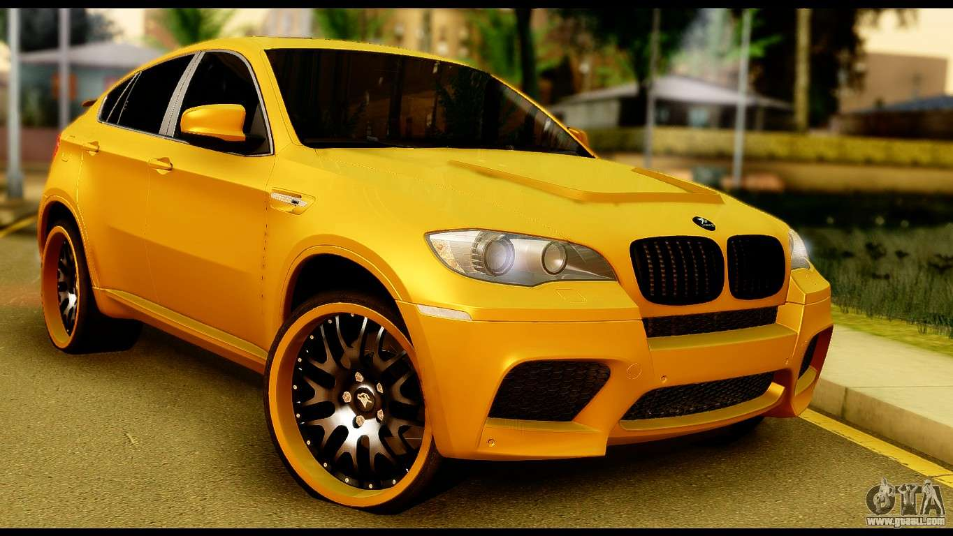 bmw x6 hamann for gta san andreas. Black Bedroom Furniture Sets. Home Design Ideas
