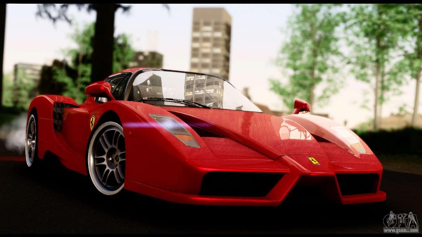 Ferrari Enzo 2002 for GTA San Andreas on mobil opel, mobil bentley, mobil daihatsu, mobil citroen, mobil nissan, mobil subaru, mobil mercedes benz, mobil alphard, mobil pagani, mobil suzuki, mobil lexus,