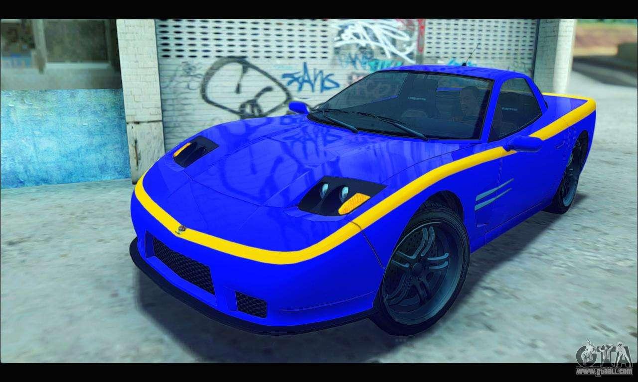 Coquette (GTA IV) for GTA San Andreas
