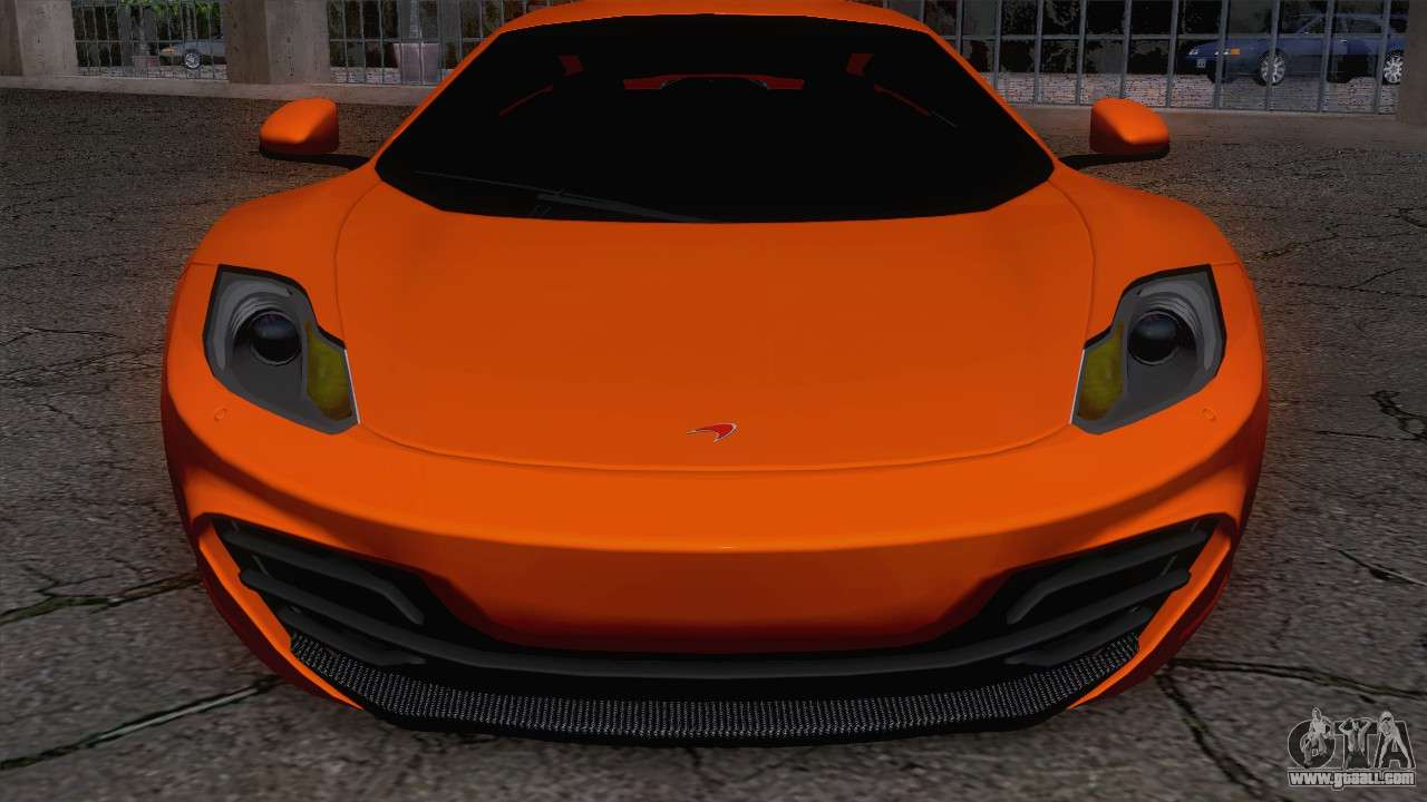 mclaren mp4 12c gawai v1 5 for gta san andreas. Black Bedroom Furniture Sets. Home Design Ideas