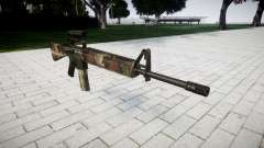 The M16A2 rifle [optical] erdl