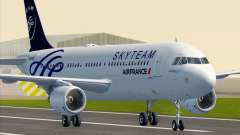 Airbus A320-200 Air France Skyteam Livery