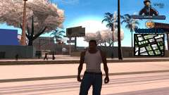 C-HUD Ghetto Life for GTA San Andreas