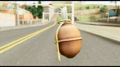 MGS3 Grenade from Metal Gear Solid for GTA San Andreas