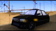Kia Pride 141 Tuning for GTA San Andreas