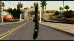 Solidsnake CQC Knife from Metal Gear Solid for GTA San Andreas