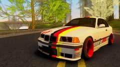 BMW M3 E36 German Style for GTA San Andreas