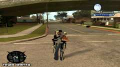 HUD Ghetto Tawer for GTA San Andreas
