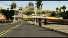 RPG7 from Metal Gear Solid for GTA San Andreas