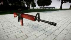 The M16A2 rifle [optical] red