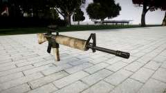 The M16A2 rifle [optical] nevada