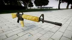 The M16A2 rifle gold
