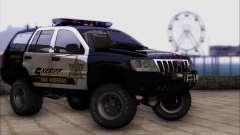 Jeep Grand Cherokee 1999 Sheriff for GTA San Andreas