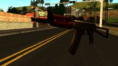 Dark AKS-74U v1 for GTA San Andreas
