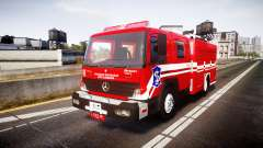 Mercedes-Benz Atego Indonesian Fire Truck [ELS]