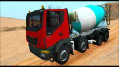 Iveco Trakker 2014 Concrete (IVF & ADD) for GTA San Andreas