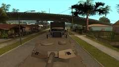 Transport tank trailer