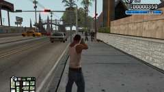 C-HUD New Style for GTA San Andreas