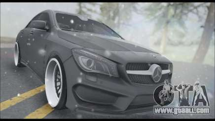 Mercedes Benz CLA 250 2014 for GTA San Andreas
