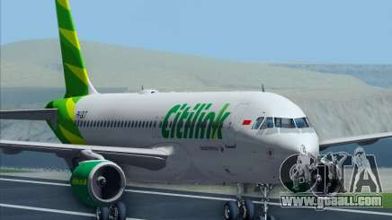 Airbus A320-200 Citilink for GTA San Andreas