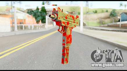 Micro SMG with Blood for GTA San Andreas