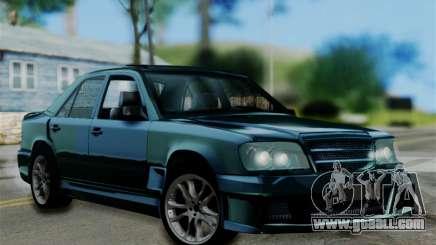 Mercedes-Benz W124 BRABUS V12 for GTA San Andreas