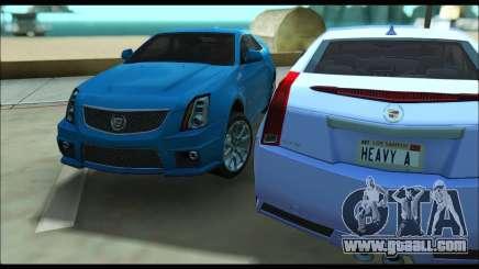 Cadillac CTS-V Coupe for GTA San Andreas