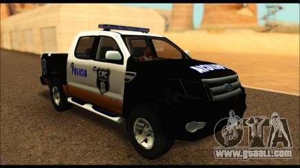 Ford Ranger P.B.A 2015 Text3 for GTA San Andreas
