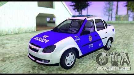 Chevrolet Corsa Classic Policia de Santa Fe for GTA San Andreas