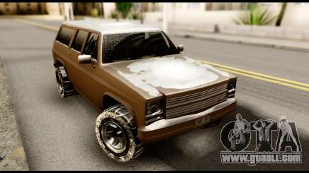 GTA 5 RancherXL for GTA San Andreas