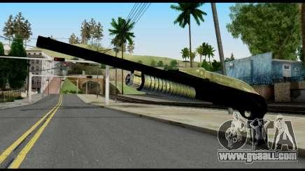 Pump Shotgun from Max Payne for GTA San Andreas