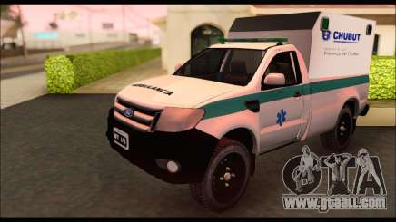 Ford Ranger 2013 Ambulancia Chubut for GTA San Andreas