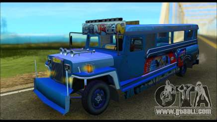 Jeepney Morales for GTA San Andreas