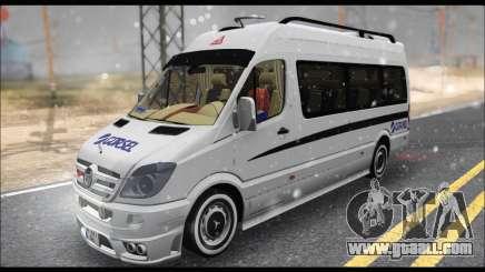Mercedes Benz Sprinter Okul Tasiti V2 for GTA San Andreas