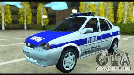 Chevrolet Corsa Policia Bonaerense for GTA San Andreas