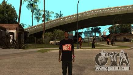 Obey Nigga for GTA San Andreas