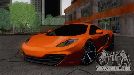 McLaren MP4-12C Gawai v1.5 for GTA San Andreas