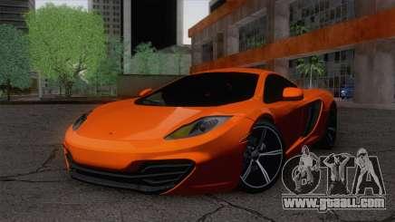 McLaren MP4-12C Gawai v1.5 for GTA San Andreas