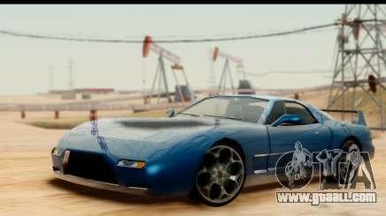 New ZR-350 (ZR-380) v1.0 for GTA San Andreas