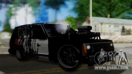 Jeep Mini-Truck SUV for GTA San Andreas