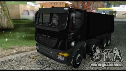 Iveco Trakker 2014 Tipper Snow (IVF & ADD) for GTA San Andreas