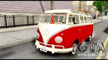Volkswagen T1 for GTA San Andreas