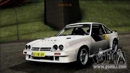 Opel Manta 400 for GTA San Andreas