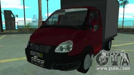GAZel 3302 for GTA San Andreas