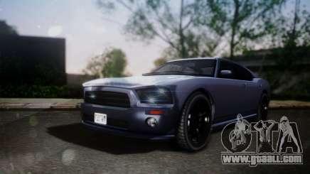 Bravado Buffalo Sedan v1.0 (HQLM) for GTA San Andreas