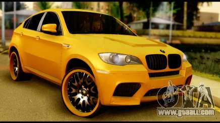 BMW X6 Hamann for GTA San Andreas
